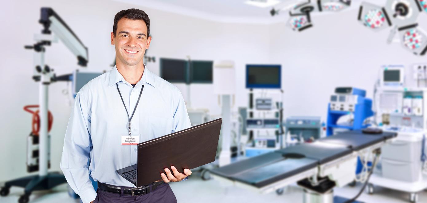 Reparador de Equipamento Médico e Hospitalar